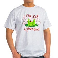 I Flip for Gymnastics T-Shirt