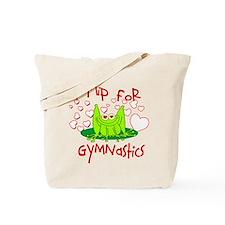 I Flip for Gymnastics Tote Bag