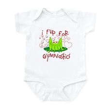 I Flip for Gymnastics Infant Bodysuit