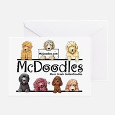 Goldendoodle McDoodles Greeting Card