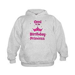 Omi of the 1st Birthday Princ Hoodie