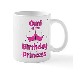 Omi of the 1st Birthday Princ Mug