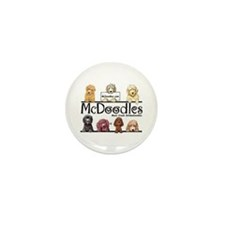 McDoodles Logo Mini Button (10 pack)