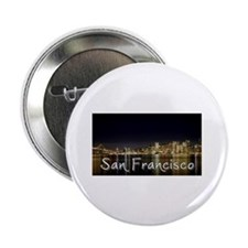 """San Francisco at night 2.25"""" Button (10 pack)"""