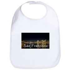 San Francisco at night Bib