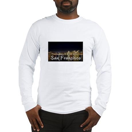 San Francisco at night Long Sleeve T-Shirt