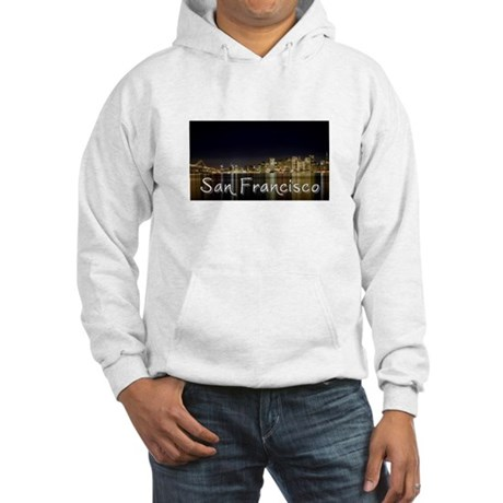 San Francisco at night Hooded Sweatshirt