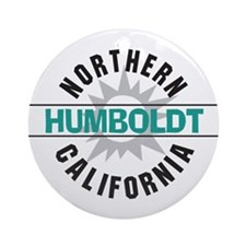 Humboldt California Ornament (Round)