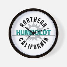 Humboldt California Wall Clock