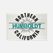 Humboldt California Rectangle Magnet