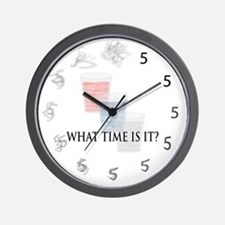 What time is it? Wall Clock