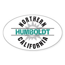 Humboldt California Oval Decal