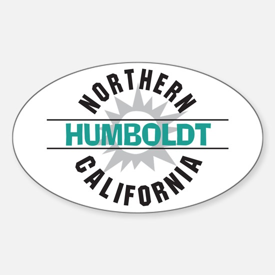 Humboldt California Oval Decal