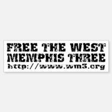 Free the West Memphis Three Bumper Bumper Bumper Sticker