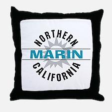 Marin California Throw Pillow