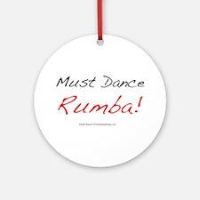 Must Dance Ornament (Round)