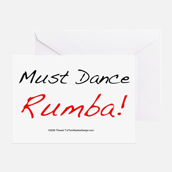 Must Dance Greeting Card