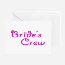 Bride's Crew Greeting Card