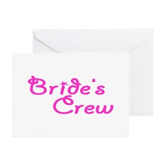 Bride's Crew Greeting Cards (Pk of 20)