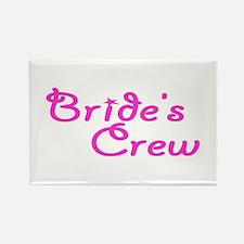 Bride's Crew Rectangle Magnet