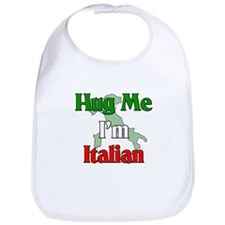Hug Me I'm Italian Bib