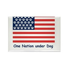 Cute July holidays Rectangle Magnet (100 pack)