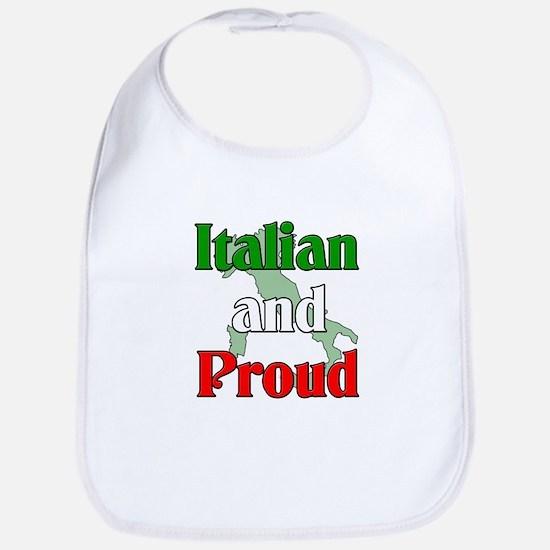 Italian and Proud Bib