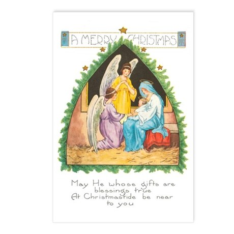 Nativity Postcards (Package of 8)