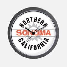 Sonoma California Wall Clock