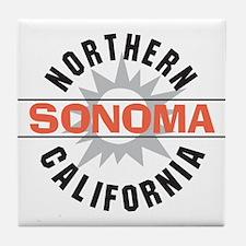 Sonoma California Tile Coaster