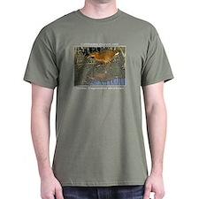 Clapper rail sneaking T-Shirt