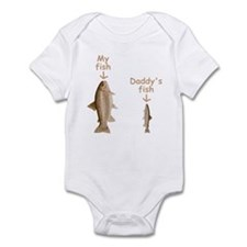 My Fish, Daddy's Fish Infant Bodysuit