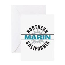 Marin California Greeting Card