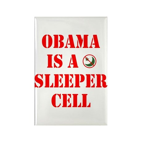 Obama is a Sleeper Cell Rectangle Magnet