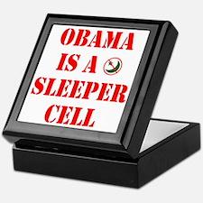 Obama is a Sleeper Cell Keepsake Box
