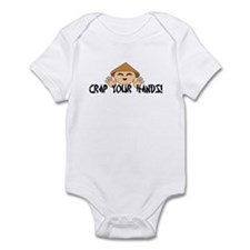 Crap your Hands! Infant Bodysuit