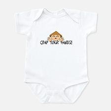 Crap your Hands! Infant Bodysuit