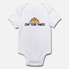 Crap your Hands! Onesie