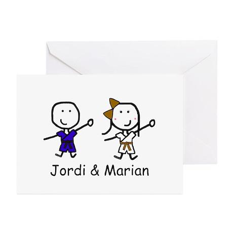 Judo - Jordi & Marian Greeting Cards (Pk of 20)