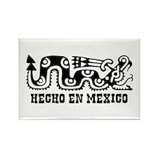 Hecho En Mexico Rectangle Magnet