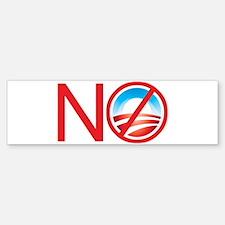 No Obama Bumper Bumper Bumper Sticker
