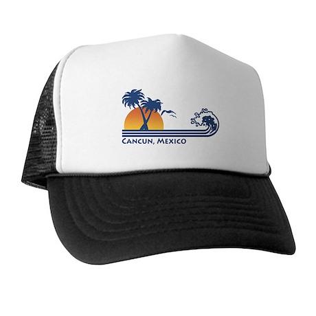 Cancun Mexico Trucker Hat
