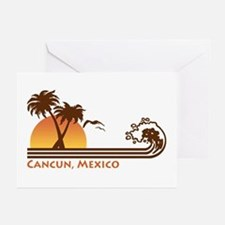 Cancun Mexico Greeting Cards (Pk of 10)