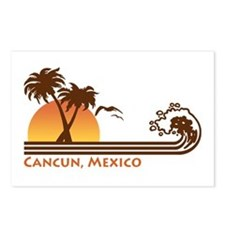 Cancun Mexico Postcards (Package of 8)