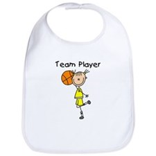 I'm Hot Girls Basketball Bib