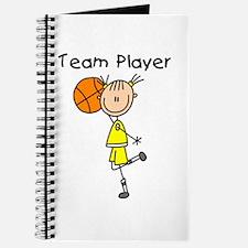 I'm Hot Girls Basketball Journal