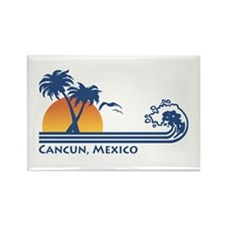 Cancun Mexico Rectangle Magnet