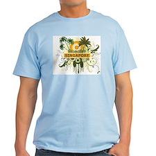 Palm Tree Singapore T-Shirt
