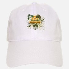 Palm Tree Singapore Baseball Baseball Cap