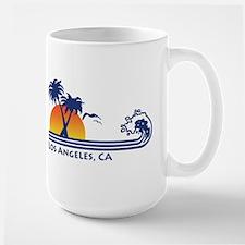 Los Angeles, CA Large Mug